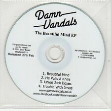 (EH748) Damn Vandals, The Beautiful Mind EP - 2011 DJ CD