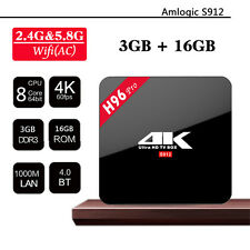 3GB/16GB H96 Pro Amlogic S912 Octa Core Android 6.0 TV Box Set-top Box 2.4G/5.8G