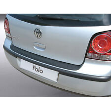 RGM Rear Black Bumper Protector For Volkswagen / VW Polo Mk4 / IV 2003 - 2009