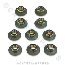 PACK OF 10 x RATIONAL 1106.0803 GALVANISED COMBINATION NUTS M6 CM SCC CPC OVEN