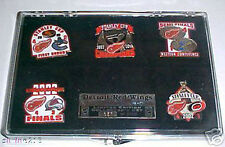 Detroit Red Wings 2002 Stanley Cup Champs LtdEd Pin Set