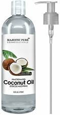 Majestic Pure Fractionated Coconut Oil, 16 Oz, New, Free Shipping