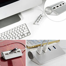 Super Speed 5Gbps 4-Port USB 3.0 Premium Aluminum Hub For iMac MacBook PC tablet