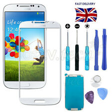 White Front Screen Glass Lens Replacement Repair Kit for Samsung Galaxy S4 i9500