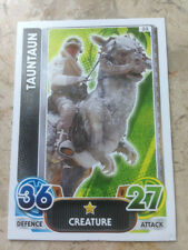 STAR WARS Force Awakens - Force Attax Trading Card #033 Tauntaun