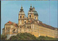 Alte Postkarte - Stift Melk von Südwesten