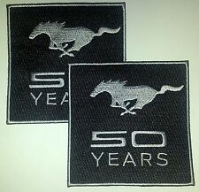 Mustang 50 Years Patch 2-PACK! Celebrate the 50th Anniversary EXCLUSIVE ITEM!