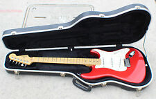 Fender STRATOCASTER Red Electric Guitar Made in USA in Case
