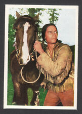 Charlton Heston Sioux Indian The Savage 1960s Movie Film Card from Germany #46