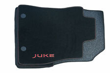 Nissan Juke Genuine Car Floor Mats Luxury Tailored Carpet Front+Rear x4 Red