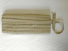 "1/2"" BRAID TRIM TRIMMING UPHOLSTERY SOFT FURNISHINGS GARMENTS CRAFT BEIGE SAND"