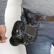 New Camera Belt Buckle Clip System Holster For DSLR SLR Cameras Canon Nikon Sony