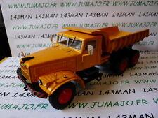 CAMION 1/43 altaya IXO KrAz 256 cassone basculante costruzione BTP