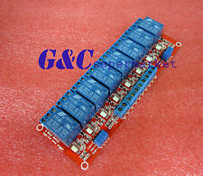 12V 8-Channel Relay Module with Optocoupler H/L Level Triger for Arduino M36