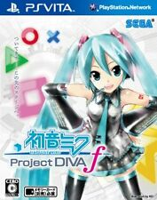 Used PS Vita Hatsune Miku Project DIVA f Import Japan
