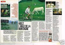 Coupure de presse Clipping 1990 (2 pages) Gerard Holtz