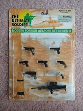 Modern Foreign Weapons Set – Series III The Ultimate Soldier 1/6 scale mint pack