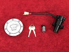 COMPLETE LOCKSET w/key 03-04 CBR600 CBR 600RR ignition switch gas cap seat lock