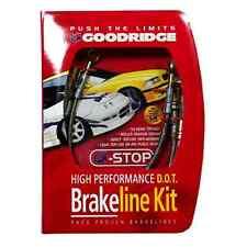 Goodridge G-Stop Stainless Brake Line Kit for Acura TSX ALL Models 03-07 20105