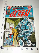 Comic: Superman's Pal Jimmy Olsen #152 / DC 1972 - Darkseid Tombstone and Bikers