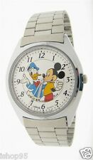 NEW DISNEY LORUS MICKEY MOUSE & DONALD DUCK WATCH