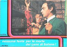 FOTOBUSTA 2, NESSUNA FESTA PER LA MORTE DEL CANE DI SATANA, FASSBINDER, POSTER