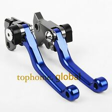 Pivot Clutch Brake Levers For Yamaha SEROW 225/250 XT225/250 1986-2015 Blue CNC