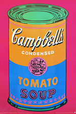 Andy WARHOL Soup Can Colored Art Print Poster 53 x 34