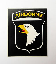 101ST AIRBORNE DIVISION DECAL STICKER ZAP MADE IN US ARMY VETERAN EAGLE VIETNAM