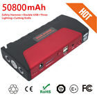 Portable 50800mAh Vehicle Car Jump Starter Booster Battery Power Bank Charger 12