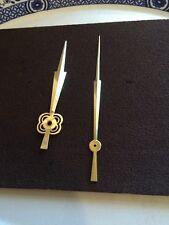 Grande Orologio Mani in ottone finitura pollici Dial CLOCK NUOVO VECCHIO STOCK 007