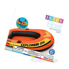 Intex Explorer 200 Inflatable Boat - Two Person Raft 58330