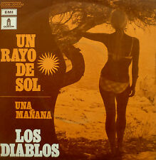 """7"""" 1970 FRENCH PRESS MINT- ! LOS DIABLOS Un Rayo De Sol"""