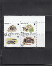 Monaco 1991  Turtles Sc 1781a  Mint Never Hinged