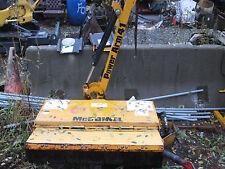 side mount long reach mower