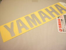 "ORIGINAL ""YAMAHA"" TANK EMBLEM AUFKLEBER 120MM GRAPHIC STICKER XS850 XS750 XS1100"