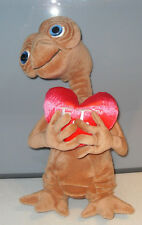 """Vintage Rare E.T. The Extra-Terrestrial 17"""" Soft Toy Heart Universal Studios VGC"""