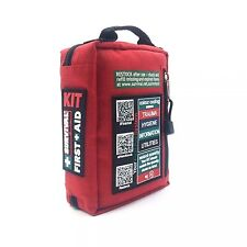 First Medical Bag Kit Aid Emergency Trauma Emt Responder Stocked Ems Survival