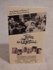 Betamax Beta  TWICE IN A LIFETIME  1985  Gene Hackman  Ann Margret