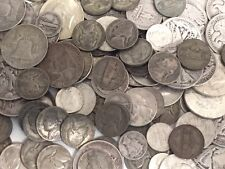 1/2 POUND(8 OUNCES) 90% & 35%(War Nicks) SILVER US COINS PREPPER LOT BULLION#%20