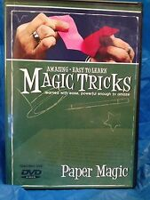 Amazing Easy to Learn Magic Tricks:  Paper Magic - Learn Paper Magic Tricks