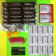 Summer Nights Camping Survival Kit Fire/Cyalume Lightsticks /Insect Repellent