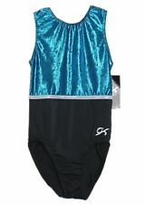 GK Elite Gymnastics Leotard - Velvet - AL Adult Large NEW