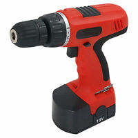 Heavy Duty 18V Cordless Drill With Battery Electric Cordless Screwdriver Drill