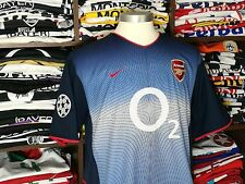 ARSENAL away 2002/03 shirt - BERGKAMP # 10 -Holland-Inter Milan-Ajax-Jersey (L)