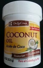 LA CRUZ COCONUT OIL FOR HAIR AND SKIN ACEITE DE COCO PARA CUERPO  Y PELO 2.2 oz