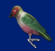 """""""Lewis's Woodpecker"""" (18111) Old World Christmas Glass Ornament"""