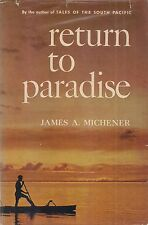 """JAMES MICHENER """"Return to Paradise"""" (1951) SIGNED 1st Edition  Author's 3rd Book"""