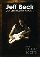 Jeff Beck: Performing This Week... Live at Ronnie Scott (2009, REGION 0 DVD New)