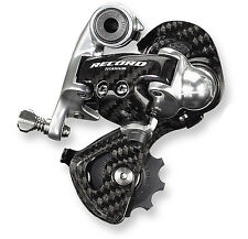 2016 Production Campagnolo RECORD 10 speed Rear Derailleur: RD4-REXS: Short Cage